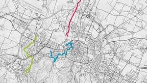 Mappa delle geocache di Urban Family Cache Bologna
